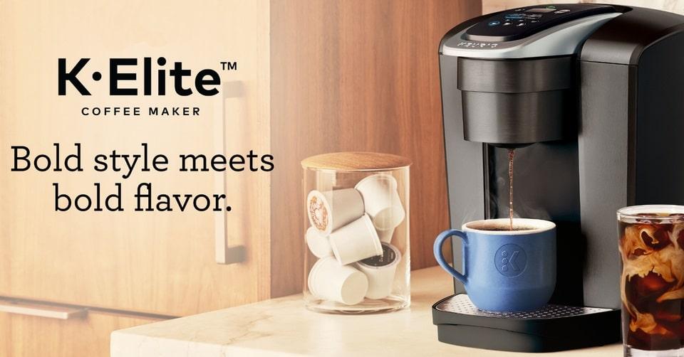 win keurig k elite single serve coffee maker
