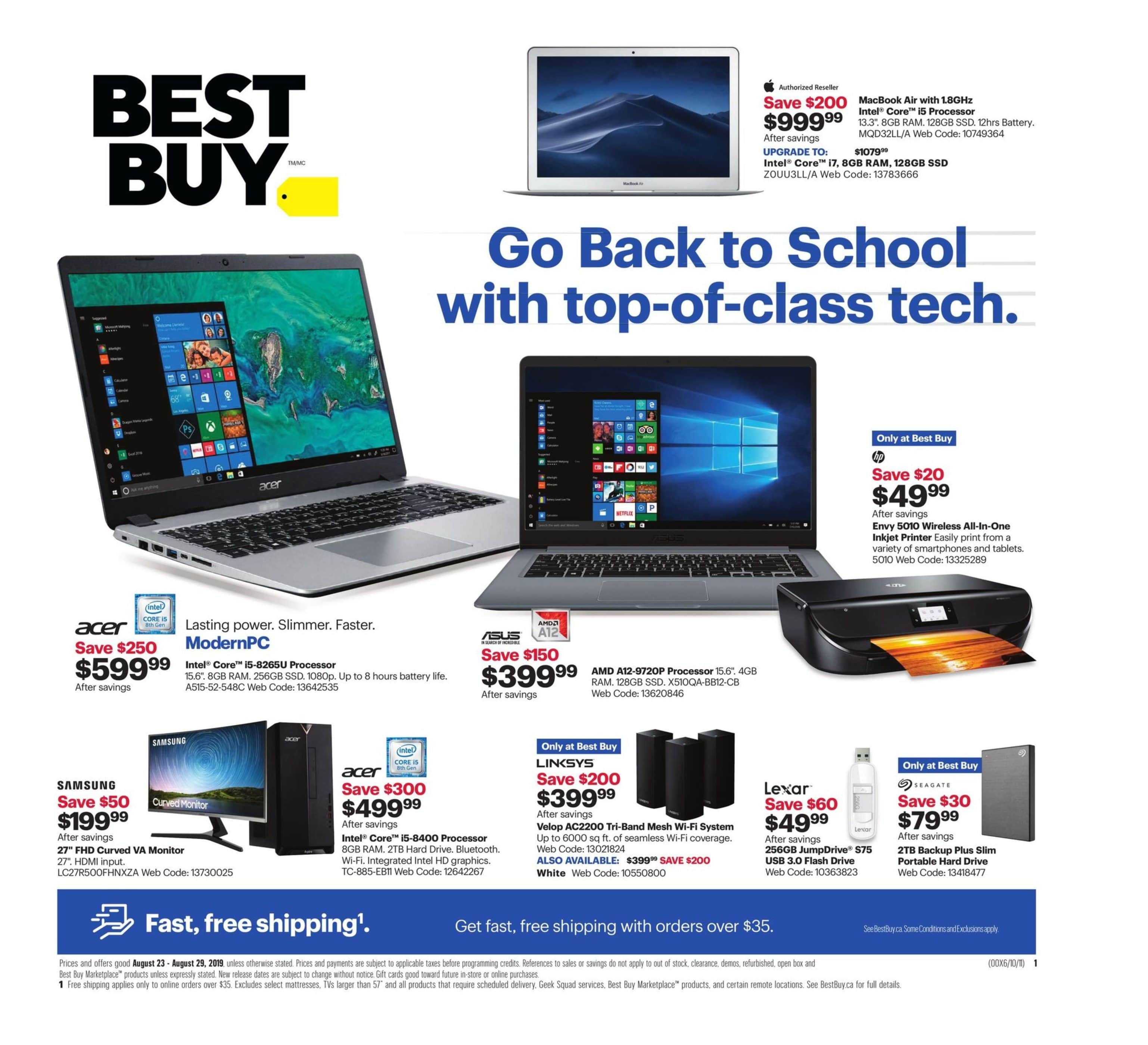 Best Buy Flyer August 23 to 29 2019 006 e1566578582793