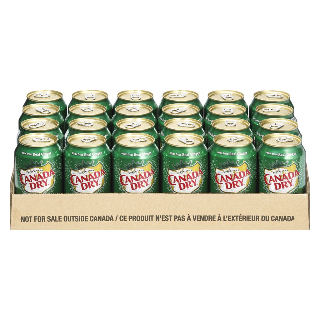 Canada Dry Ginger Ale Case