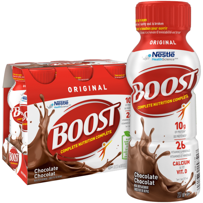 boost meal replacement drink
