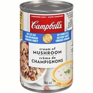 campbells cream of mushroom 284mL