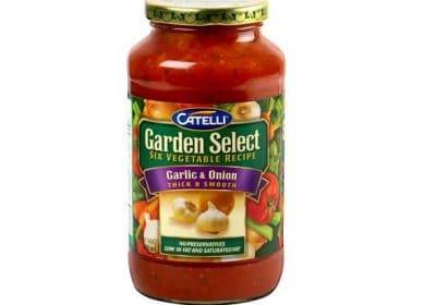 catelli garden select pasta sauce 640ml