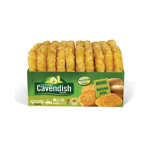 cavendish hash brown patties