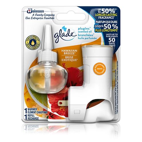 glade plugins scented oil starter kit