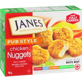 janes pub style chicken nuggets 800g