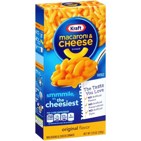 kraft mac cheese dinner