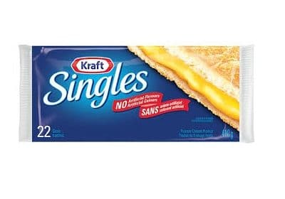 kraft singles cheese slices 22