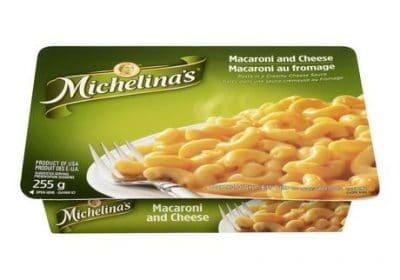 michelinas macaroni and cheese pasta