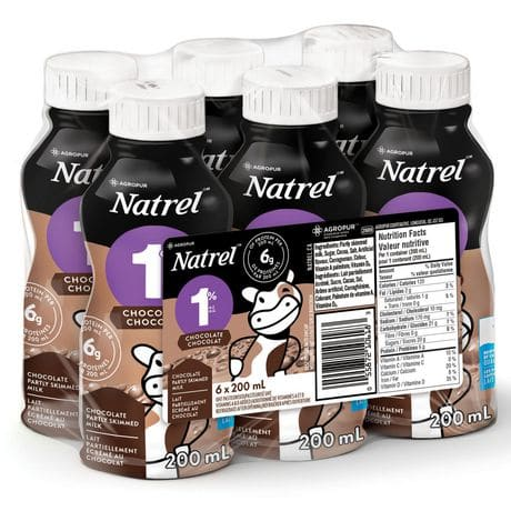 natrel chocolate milk
