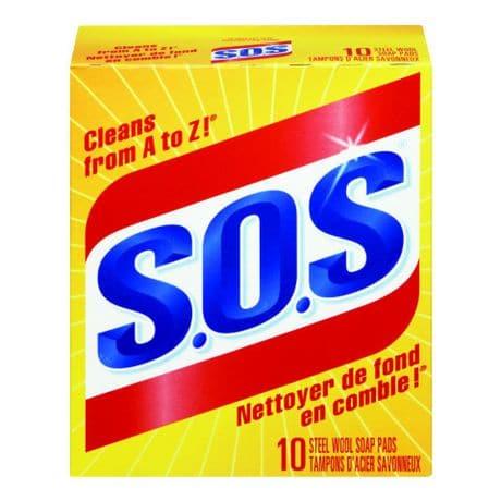 sos soap pads 10ea