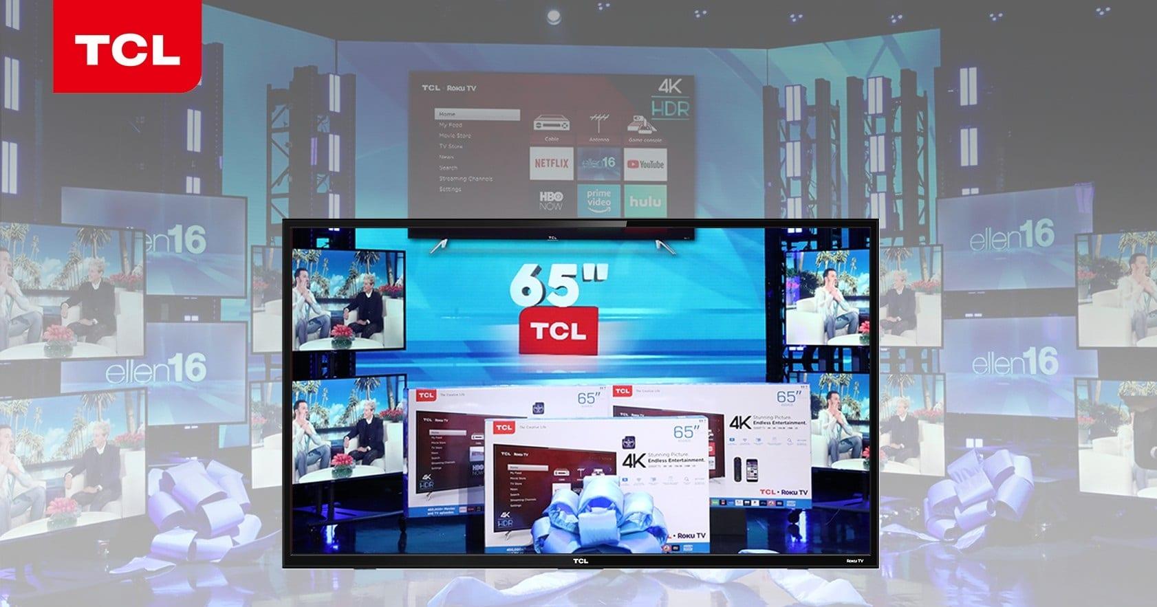 win 65 inch tcl smart tv ellen