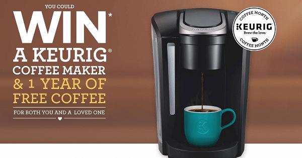 win keurig coffee maker