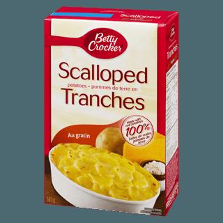 betty crocker scalloped potatoes 141g