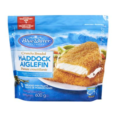 bluewater frozen fillets 600g