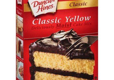 duncan hines cake mix 432g