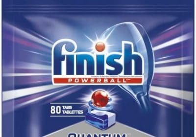 finish quantum dishwasher detergent 80tablets