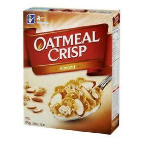general mills cereals oatmeal crisp almond 475g