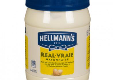 hellmans real mayonnaise 445ml
