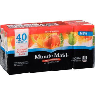 minute maid peach mango