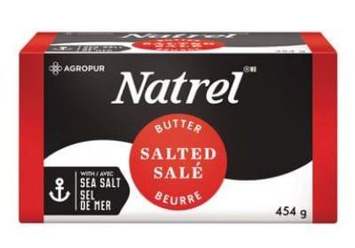 natrel butter 465g