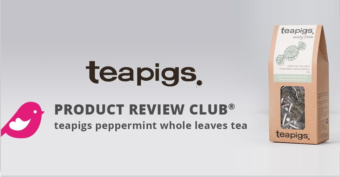 review free teapigs peppermint whole leaves tea