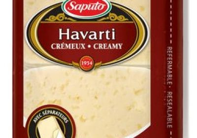 saputo havarti cheese slices 500g