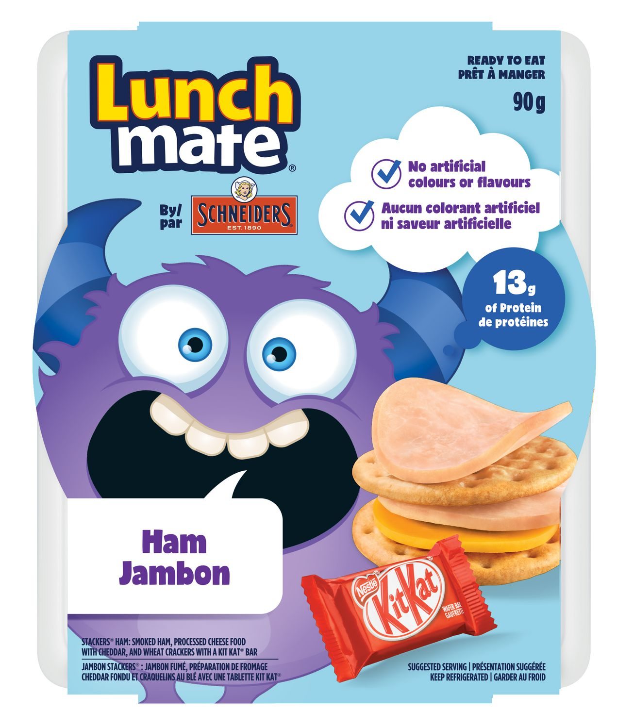 schneiders lunchmate 90g