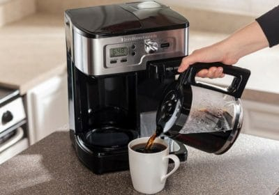 win hamilton Beach coffee maker