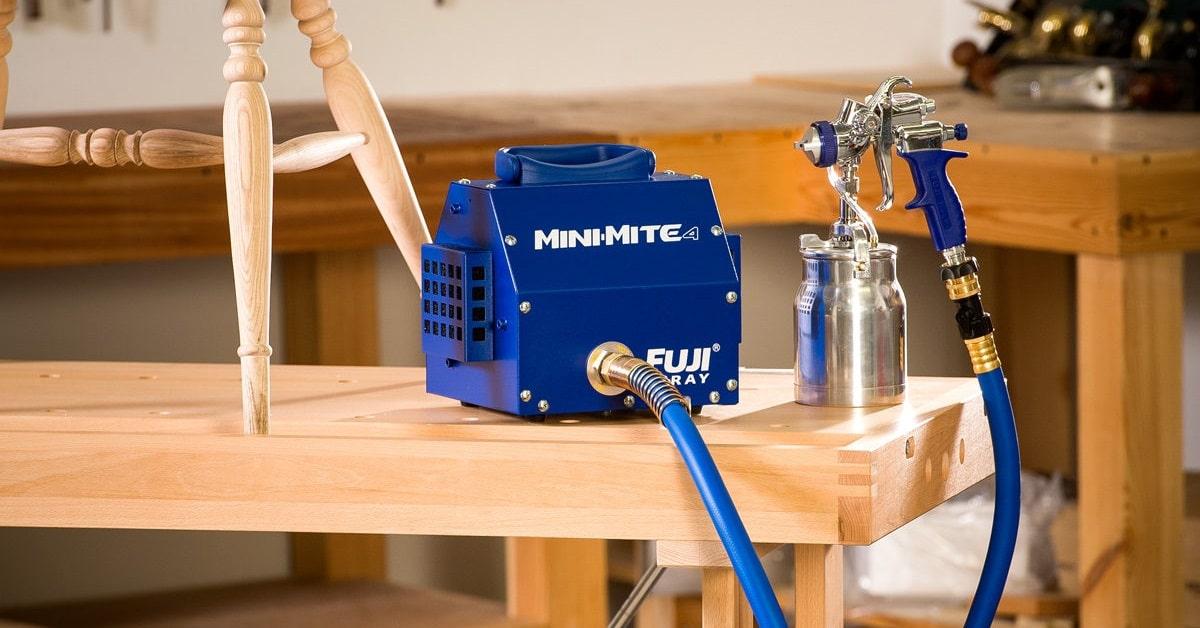 win hvlp spray systems fuji mini mite