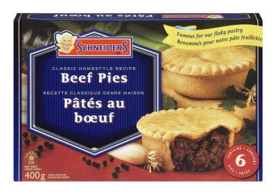 Schneiders Meat Pies 6 pack