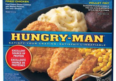 hungry man fried chicken 360g