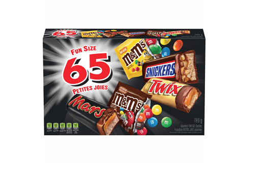 mars halloween chocolate candy 65ea