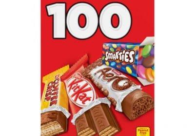 nestle mini halloween chocolate candy 100 1.02kg