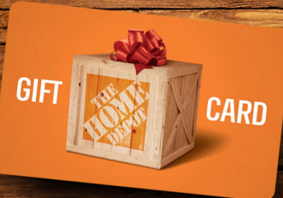 win 200 Home Depot gift card