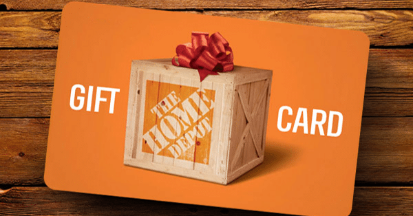 win 200 Home Depot gift card