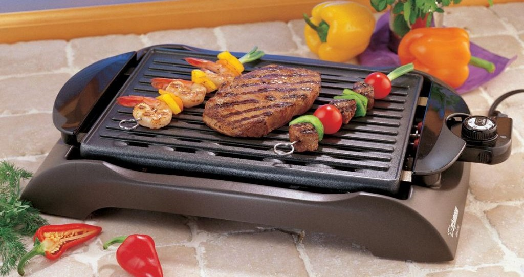 win george foreman somekeless grill