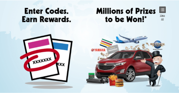 win millions of prizes with mcdonalds 1