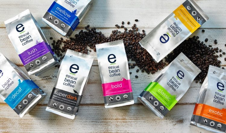 free ethican beans coffee