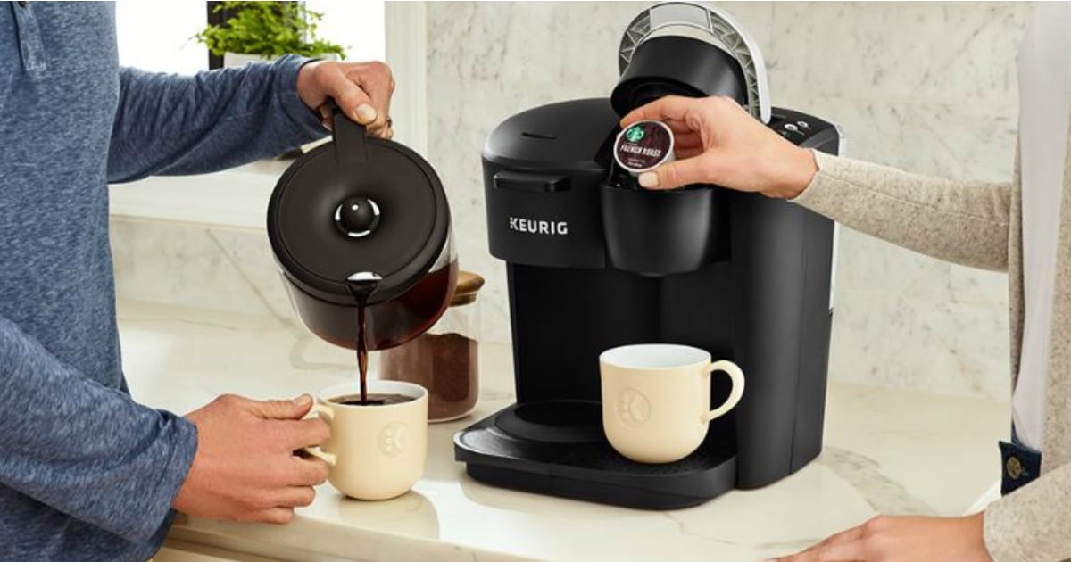 win Keurig K Duo Essentials Single Serve Carafe Coffee Maker