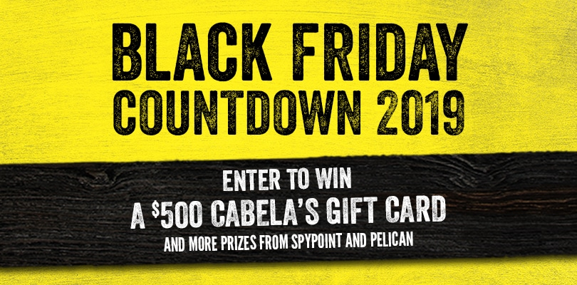 win cabelas gift card pelican spypoint products