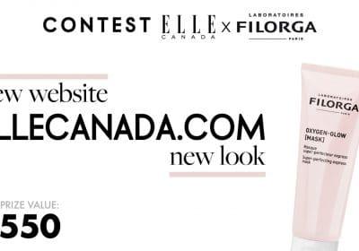 win elle canada filgora prize pack