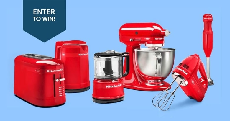 Win A 6 Pc Kitchenaid Queen Of Hearts Collection Worth
