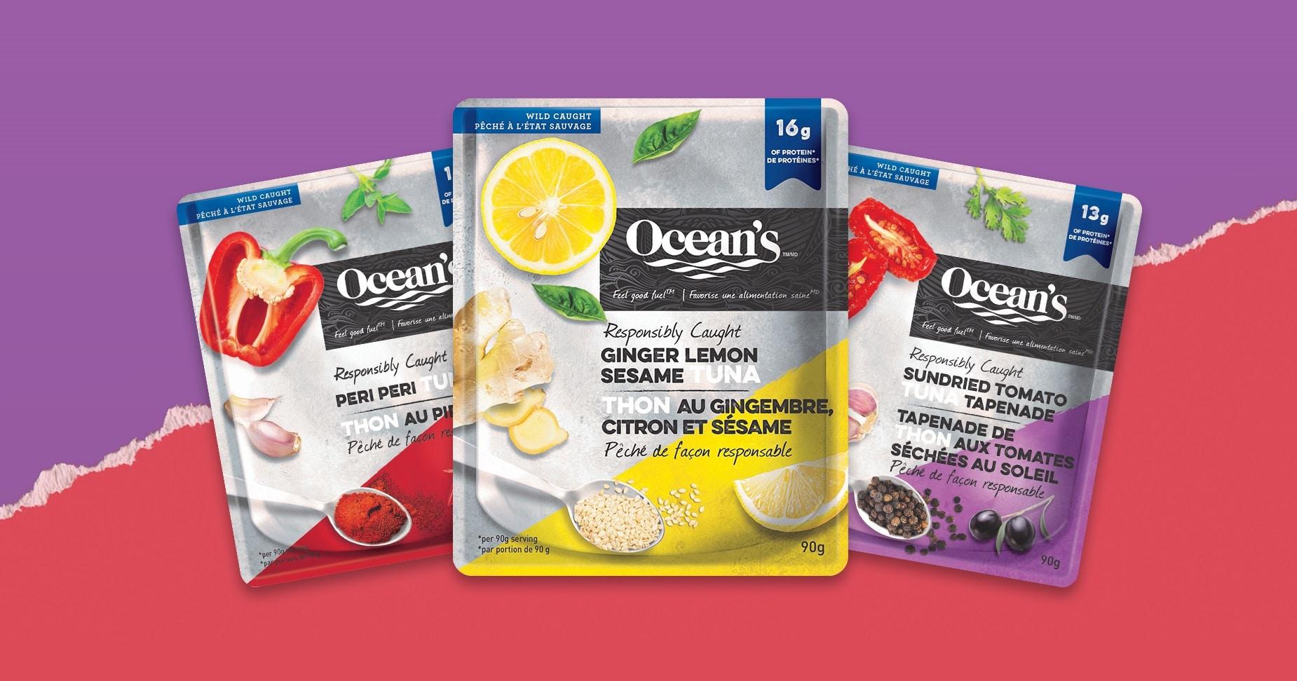 win oceans tuna pouches