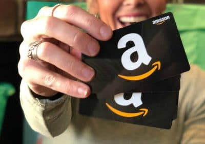 win amazon gift card