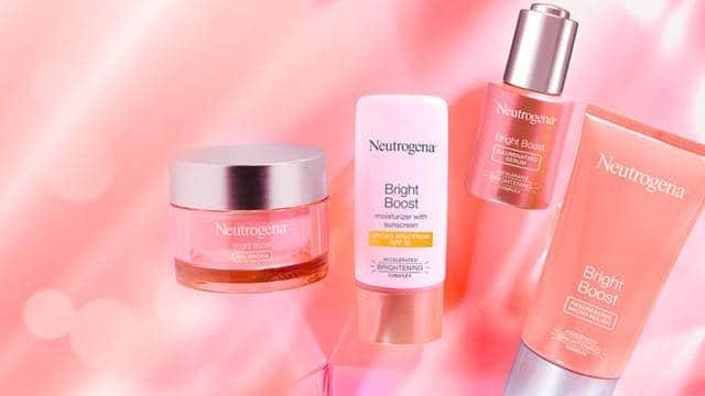 free neutrogena bright boost skincare