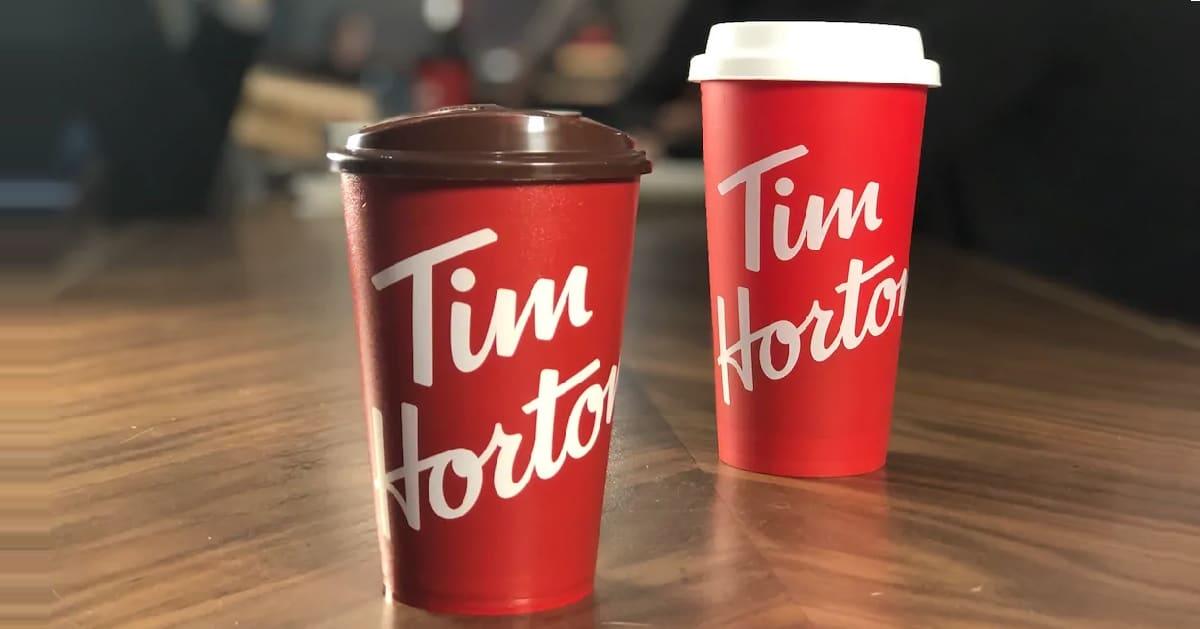 free reusable tim hortons cups