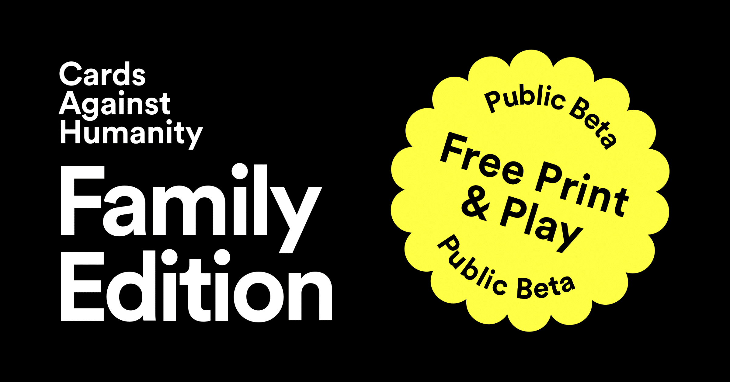 free cards against humanity game