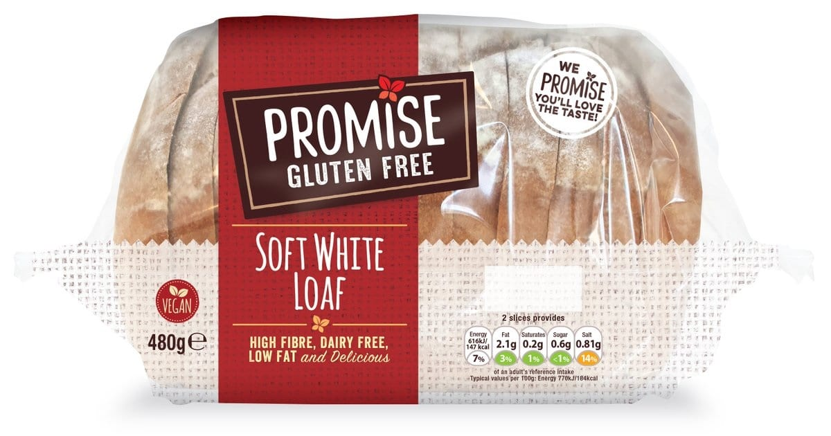 free sample promise gluten free bread