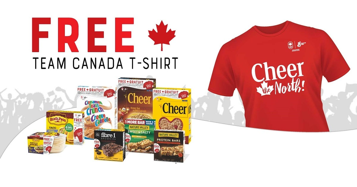 free team canada t shirt