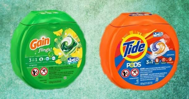 free tide gain flings products